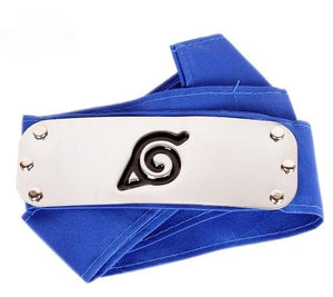 Naruto Headband Leaf Village Logo Konoha Kakashi Akatsuki Members Headband Cosplay Costume Accessories