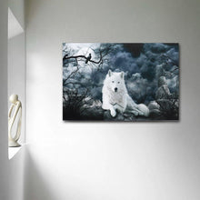 Load image into Gallery viewer, Wolf Painting Canva - Posters PrintsWolf Art - Home Decoration