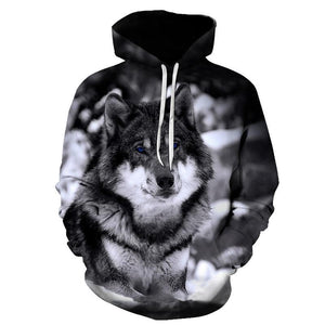 2020 New Wolf Hoodies Unisex Autumn/Winter - Hip Pop Style - Various esign