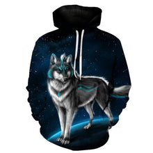 Load image into Gallery viewer, 2020 New Wolf Hoodies Unisex Autumn/Winter - Hip Pop Style - Various esign