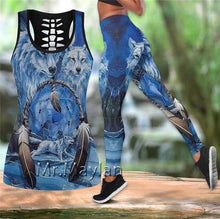 Load image into Gallery viewer, Woman 2020 Summer Sexy Sleeveless Vest Girl - Native Indian Wolf Style