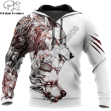 Load image into Gallery viewer, Wolf Hoodies Harajuku Streetwear Fashion - Unisex - Autumn/Winter Jacket
