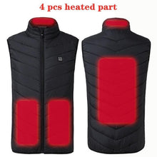 Load image into Gallery viewer, USB Heated Vest
