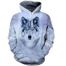 Load image into Gallery viewer, Autumn/Winter For Women/Men Wolf Graphic 3D Hoodie - Sweater Sweatshirt 2020 - Fahsion Long Sleeve Pullover
