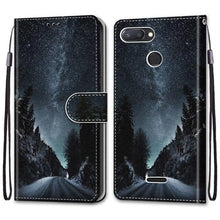 Load image into Gallery viewer, Phone Case For Xiaomi Redmi 6 6A 7 7A - Flip Case Leather Cat Wolf And Others