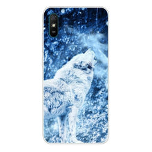 Load image into Gallery viewer, Silicone Soft: Lion, Wolf Back Cover For Xiaomi Redmi 9AT Phone Case TPU Bumper Redmi 9C 9 A A9