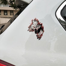 Load image into Gallery viewer, Angry Wolves PVC Motorcycle Car Sticker - 10.6CM*15.2CM