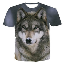 Load image into Gallery viewer, 2020 Summer NewFunny 3d (Wolf Style And Other Cartoon Designs) - T-Shirts Short sleeve tops