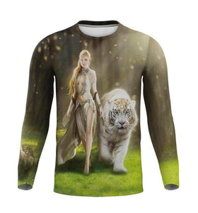 2020 New Autumn Wolf T-shirt Casual 3D T - Long Sleeve - Wide choice of designs