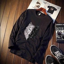 Load image into Gallery viewer, Fashion Shirt Wolf Head - 100% Cotton - Unisex