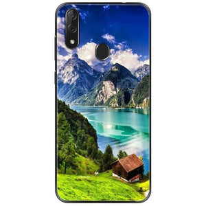 Wolf Cover Silicon Case (and Other Animals) - For ZTE Blade V10 Case Black TPU Bumper for ZTE Blade V10Vita V 10