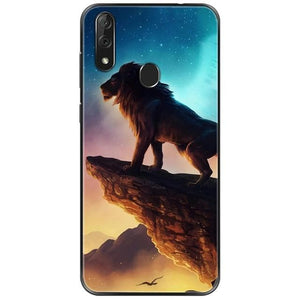 Wolf And Other animals Style - Silicon Case Cover - For Cubot X19 5.93 inch Coque Capa