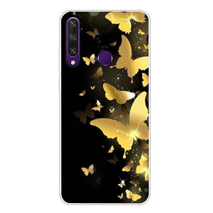 Wolf Cover Silicon Case (and Other Animals) - For Vivo Y19 Y17 Y15 Y12 Y11 2019 Vivo Y81 Y91C Y95 Y91 Y93 Lite Y30 Y50 V9 V17 Neo