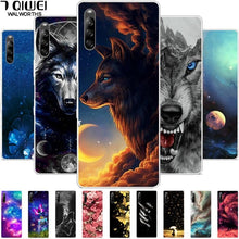Load image into Gallery viewer, Wolf Cover Silicon Case (and Other Animals) - For Sony L4 5 1 10 Plus, Sony Xperia 10 II 1 II XZ2 Premium Compact L3 Case For Sony5