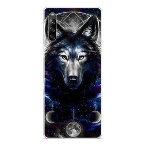 Wolf Cover Silicon Case (and Other Animals) - For Sony L4 5 1 10 Plus, Sony Xperia 10 II 1 II XZ2 Premium Compact L3 Case For Sony5
