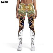Load image into Gallery viewer, Wolf And Nature Style - Leggings Women - Trousers Slim Pants