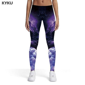 Wolf And Nature Style - Leggings Women - Trousers Slim Pants