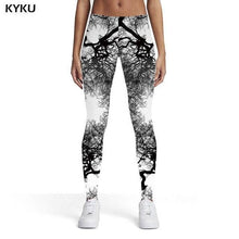 Load image into Gallery viewer, Beautiful Woman Elastic Wolf, Bear And Other Animals Leggins