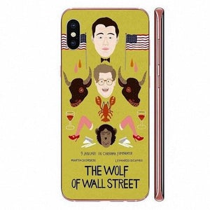 Film The Wolf Of Wall Street For Apple iPhone 11 Pro XS Max XR X 8 7 6 6S Plus 5 5S SE 4 4S Soft TPU Protective Case