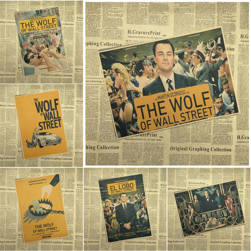 The Wolf of Wall Street Posters - Wide choice of variants