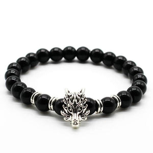 Wolf Head Bracelet - New Wolves - unique & trendy stuff