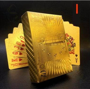 Luxury 24K Gold Foil Poker Playing Cards ( Buy 2 free shipping )