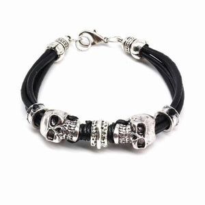 Classic Leather Rope Men Dragon Bracelet Men gift - New Wolves - unique & trendy stuff