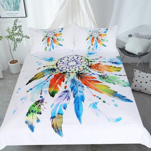 Bohemian Dreamcatcher Bedding Set - New Wolves - unique & trendy stuff