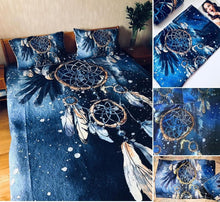 Load image into Gallery viewer, Dreamcatcher Bedding Set - New Wolves - unique & trendy stuff