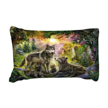 Load image into Gallery viewer, Wolf Family Bedding Set - New Wolves - unique & trendy stuff