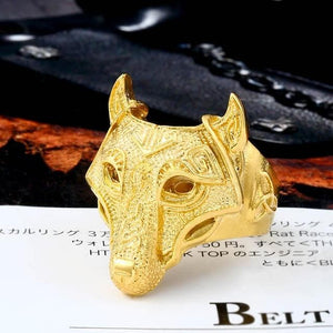 Viking Nordic Wolf Ring - New Wolves - unique & trendy stuff