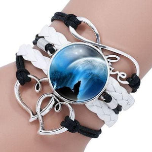 Retro Style Boho Wolf Bracelet - New Wolves - unique & trendy stuff