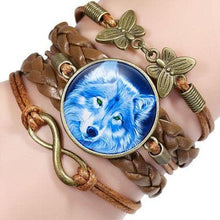 Load image into Gallery viewer, Retro Style Boho Wolf Bracelet - New Wolves - unique & trendy stuff