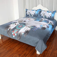 Load image into Gallery viewer, Wolves Couple Bedding Set - New Wolves - unique & trendy stuff