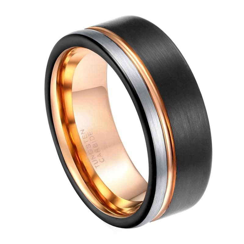 8mm Tungsten Ring - New Wolves - unique & trendy stuff