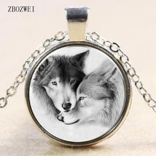 Load image into Gallery viewer, wolf pendant necklace - New Wolves - unique & trendy stuff
