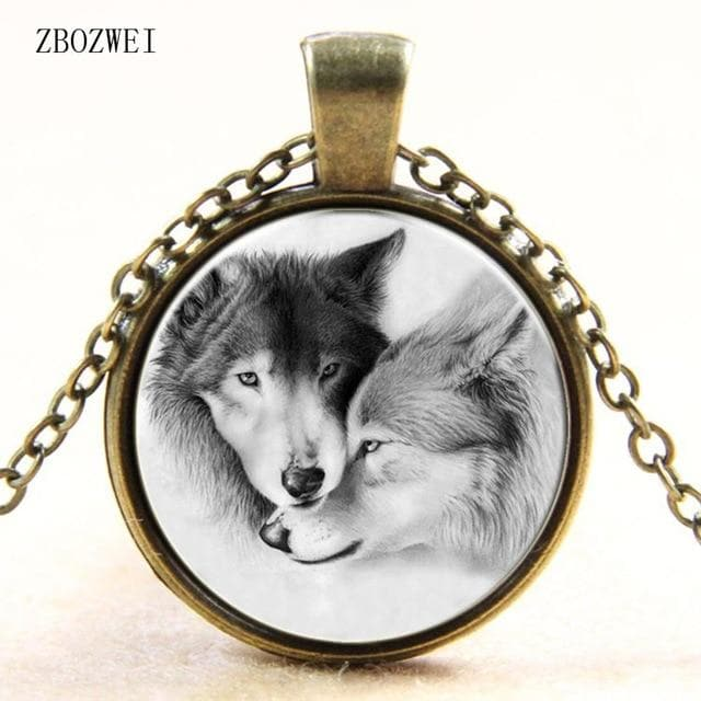 wolf pendant necklace - New Wolves - unique & trendy stuff
