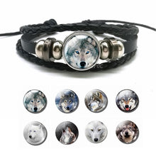 Load image into Gallery viewer, Wolf Bracelet Boyfriend Gift - New Wolves - unique & trendy stuff