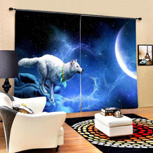 Load image into Gallery viewer, 3D Wolf  curtain - New Wolves - unique & trendy stuff