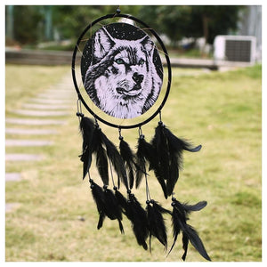 Wolf Dream catcher Decoration gift - New Wolves - unique & trendy stuff