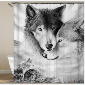 Wolf Shower Curtain - New Wolves - unique & trendy stuff