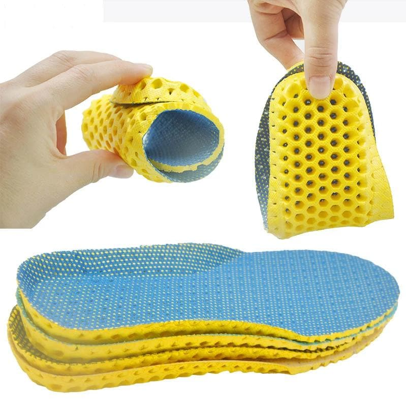 Stretch Breathable Deodorant Running Cushion Insoles