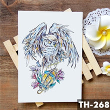 Load image into Gallery viewer, Wolf & Fox Waterproof Temporary Tattoo Sticker