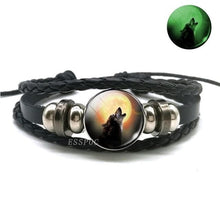 Load image into Gallery viewer, (HOT) Glow In The Dark Wolf Bracelet - New Wolves - unique & trendy stuff