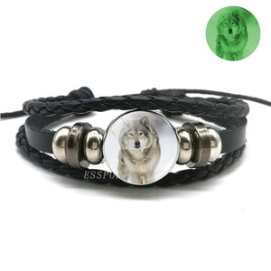 (HOT) Glow In The Dark Wolf Bracelet - New Wolves - unique & trendy stuff