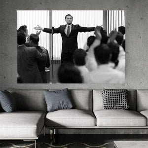 The Wolf of Wall Street - Poster And Print Wall Art Picture Painting Home Decor