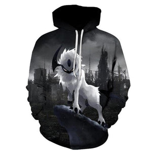 2019 New Star-headed wolf print Hoodies - New Wolves - unique & trendy stuff