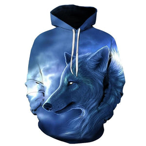 New Wolf head hoodie - New Wolves - unique & trendy stuff