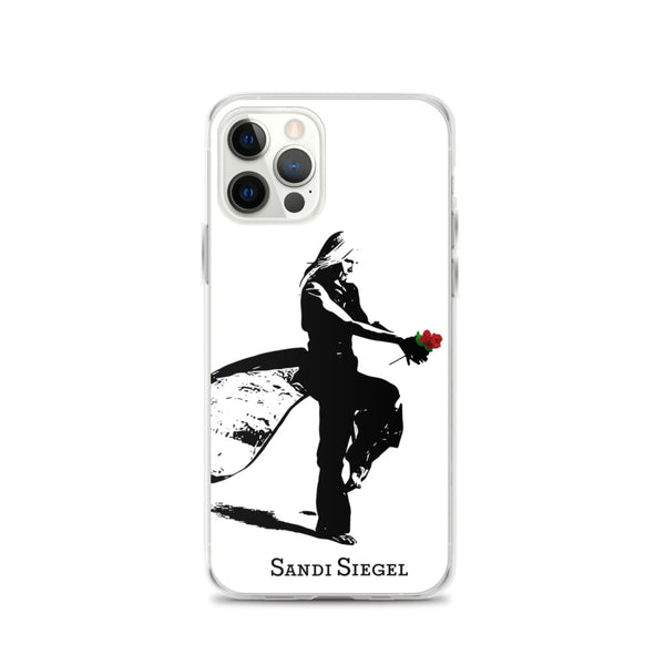 iPhone Case (Simple Black on White)