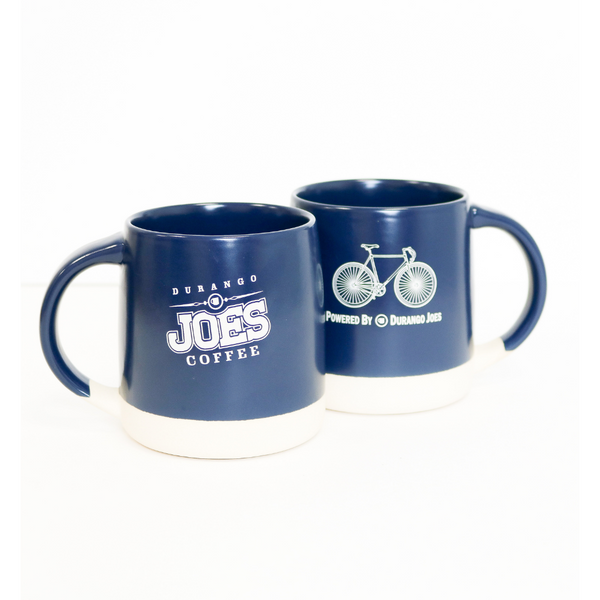 Limited Edition 14oz Powered By Durango Joes Bike Mug | Matte Navy